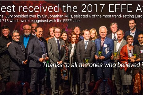 Altofest receives the 2017 EFFE Award